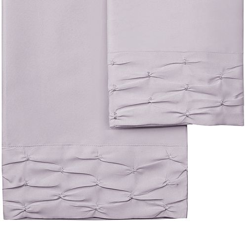 Hudson & Main Diamond Ruched Sheet Set