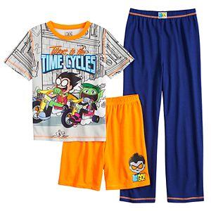 5d1a808c55fd Boys 4-20 Teen Titans 2-Piece Pajama Set