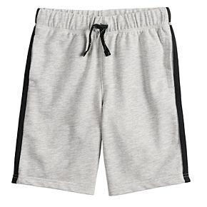 Boys 4-12 Jumping Beans®  Striped Knit Shorts
