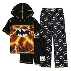 Boys 4-12 Batman 3-Piece Pajama Set