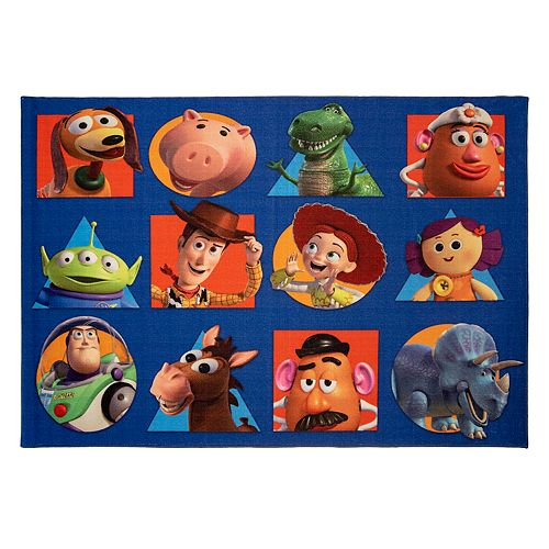 Disney Pixar Toy Story Area Rug 4 6