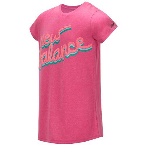 Girls 7-16 New Balance Short Sleeve Graphic Tee