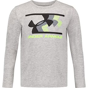 Boys 4-7 Under Armour Zooming Logo Long-Sleeve Tee