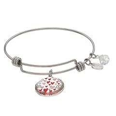 Love This Life 'Love' Charm Bangle Bracelet