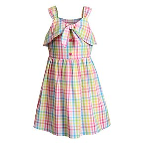 Girls 4-6x Youngland Woven Plaid Dress