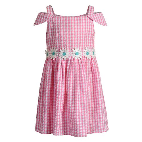 Girls 4-6x Youngland Daisy Seersucker Dress
