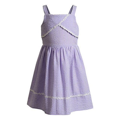 Girls 4-6x Youngland Daisy Trim Woven Dress
