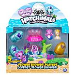 Hatchimals CollEGGtibles Mermal Magic Flower Shower Playset