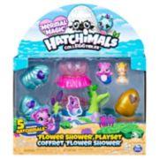 Hatchimals CollEGGtibles Mermal Magic Flower Shower Playset