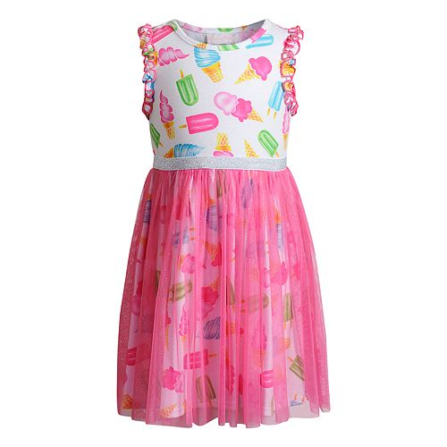 Girls 4-6x Youngland Ice Cream Tulle Dress