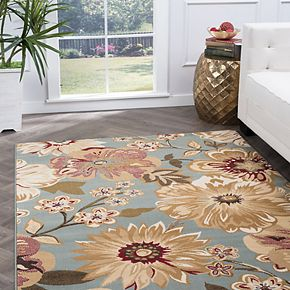 KHL Rugs Camila Floral Area Rug