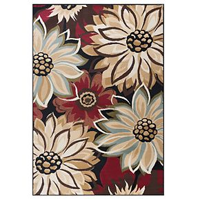 KHL Rugs Odessa Floral Area Rug