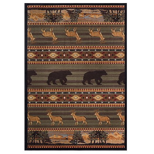 KHL Rugs Expedition Wildlife Area Rug