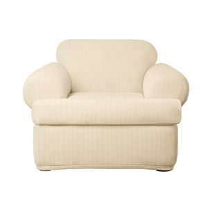 3 Piece T Cushion Chair Slipcover