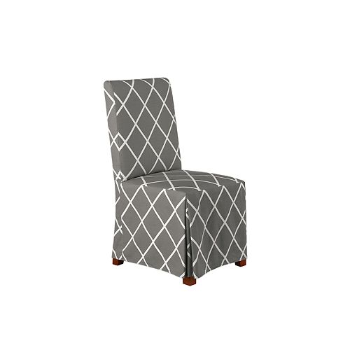 Sure Fit Lattice Dining Chair Slipcover