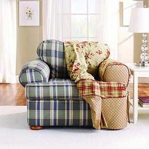 Sure Fit Lexington T Cushion Chair Slipcover