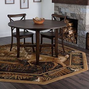 KHL Rugs Fern Deer Lodge Area Rug