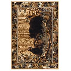 KHL Rugs  Fern Bear Lodge Area Rug