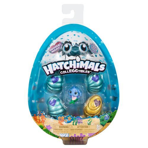 Hatchimals CollEGGtibles Mermal Magic 4-Pack Season 5