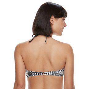Women's Apt. 9® Strappy-Front High-Neck Crop Bikini Top