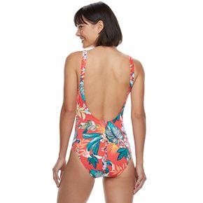 Women's Apt. 9® Double Bow One-Piece Swimsuit