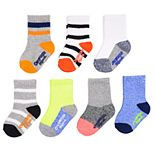 Baby / Toddler Boy OshKosh B'gosh® 7-pack Marled Crew Socks