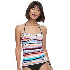 6031ff725128d Women's Apt. 9® Twist-Front Bandeaukini Top