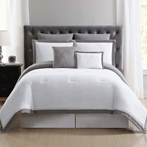 Truly Soft Everyday Hotel Border Comforter Set