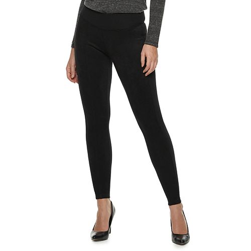 Women's Rock & Republic® Faux-Suede Leggings