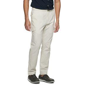 Men's Croft & Barrow® Linen-Blend Cargo Pants