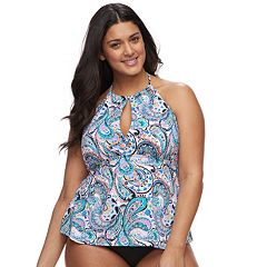 31aa7134117a5 Womens Apt. 9 Tankini Swimsuit Tops - Swimsuits, Clothing | Kohl's