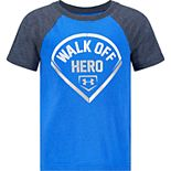 Boys 4-7 Under Armour UA Walk Off Hero Tee
