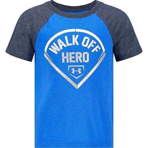 Boys 4-7 Under Armour UA Walk Off Hero Tee