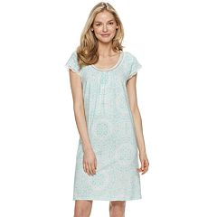 a196155c024a Women s Croft   Barrow® Scoopneck Printed Nightgown