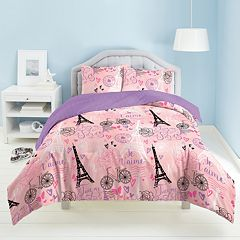 Dream Factory Je T'aime Paris Bed Set