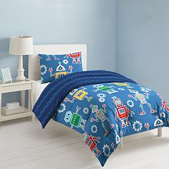 Dream Factory Robots & Bits Bed Set