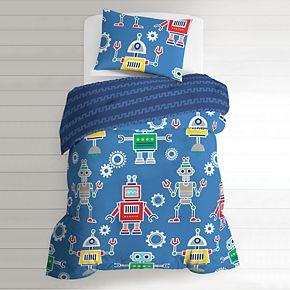 Dream Factory Robots & Bits Bed Set
