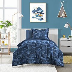 Dream Factory Geo Camo Bed Set
