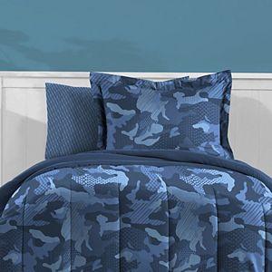 Dream Factory Geo Camo Bed Set