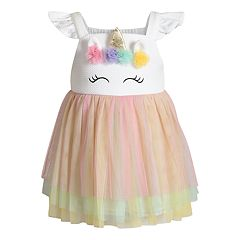Toddler Girl Youngland Unicorn Dress