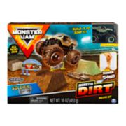Monster Jam Soldier Fortune Monster Dirt Deluxe Set by Spinmaster