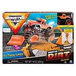 Spinmaster Monster Jam El Toro Loco Monster Dirt Kinetic Sand Set