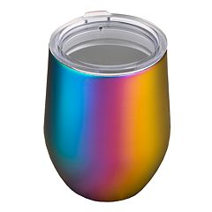 Food Network™ 11-oz. Rainbow Double-Wall Stemless Wine Tumbler with Lid