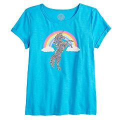 Girls 7-16 & Plus Size SO® Reversible Sequin Tee