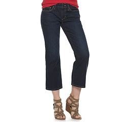 Women's SONOMA Goods for Life™ Mid-Rise Kick Crop Jeans