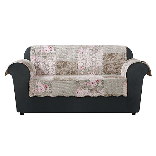 Sure Fit Heirloom Quilted Loveseat Slipcover