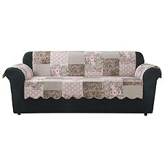 Sure Fit Heirloom Quilted Sofa Slipcover