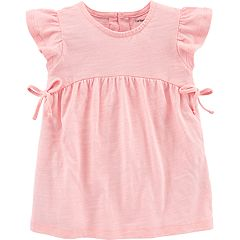 Toddler Girl Carter's Babydoll Bow Top
