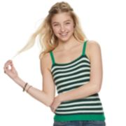 Juniors' It's Our Time Striped Sweater Tank