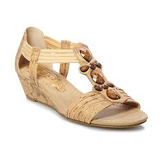 New York Transit Tempted Women's Wedge Sandals